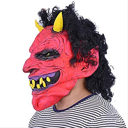 ZAZCB Halloween-Party Halloween-Party Halloween-Party Schreckliche Rojo-Teufel-Party Papel Juego