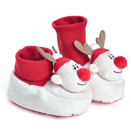 Baby Shoes , Baby Jungen Lauflernschuhe, weiß - weiß - Größe: 0-6 monate (Air Jordans Schuhe Für Jungen-größe 9)