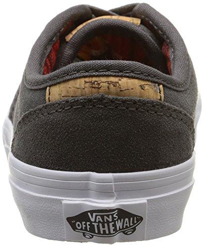 Vans ATWOOD, Unisex-Kinder Sneakers Grau (suede/pewter/blanket)