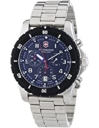 Victorinox Swiss Army 241679 - Reloj de cuarzo para hombre, correa de acero inoxidable color plateado