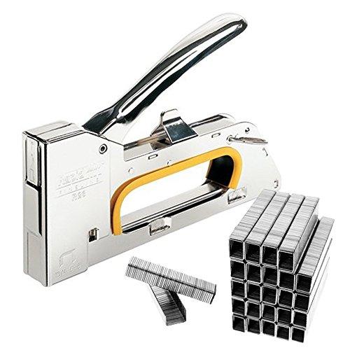 JJOnlineStore–4/6/8mm Stahl Heftpistole Tacker Polster Hefter DIY mit gratis 2500Heftklammern