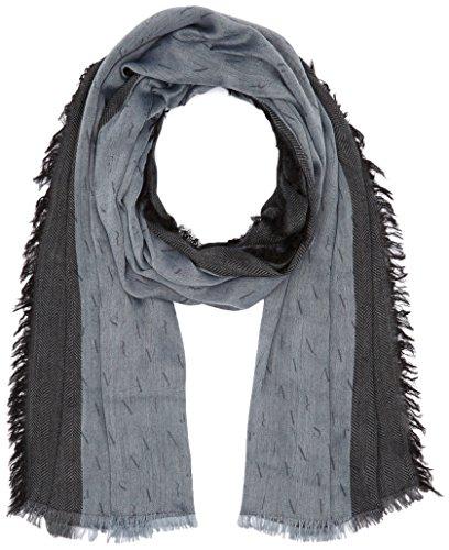 Armani Jeans 9340226A713, Sciarpa Uomo, Grau (Frost Grey 11541), Taglia Unica