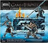 Mega Brands- Mega Construx Game of Thrones Il Trono di Spade, La Battaglia, Contiene Jon Snow, Il Re della Notte e Un Estraneo, Costruzioni Giocattolo 16 + Anni, GKG96