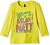 #9: United Colors of Benetton Baby Boys' T-Shirt (16A3096C12WIIK240Y_Lime Yellow)