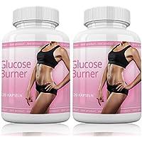 Preisvergleich für Glucose Burner By myshapeup | 240 Kapseln | 2 Dosen | Hochdosiert | Beliebt bei Frauen | Geeignet für Definition...