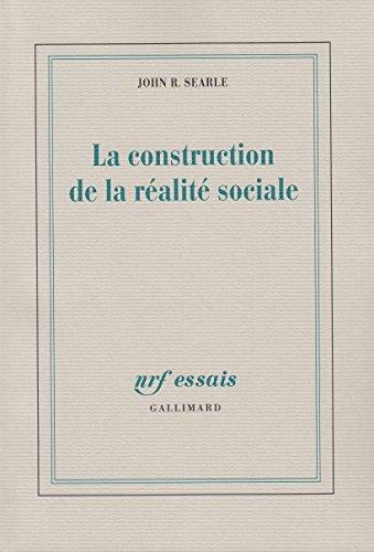 La construction de la réalité sociale