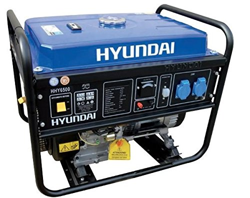 Generatore di Corrente Hyundai HY 6500 - 5,5 Kw Gruppo Elettrogeno