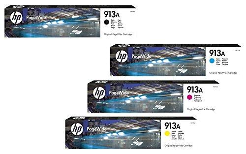 HP Original 913A Tintenpatronen 4er Set schwarz, cyan, magenta, gelb (L0R95AE, F6T77AE, F6T78AE, F6T79AE)