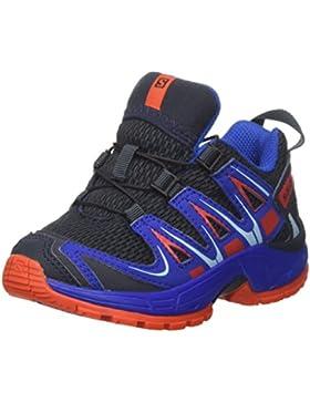 Salomon Xa Pro 3d K, los Zapatos Al Aire Libre de Multideporte Unisex Niños