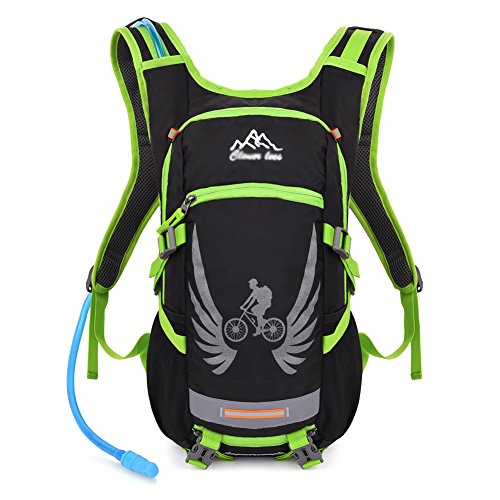 vbiger-sac-a-dos-dhydratation-tactique-avec-poche-a-eau-pour-cyclisme-randonnee-running-vert-2l-poch
