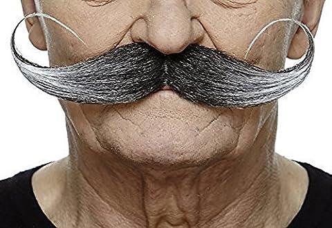 Capt' Hook salt and pepper moustache