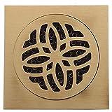 LXDXKA Kupfer Bodenablauf Bad Deodorant Badezimmer Kanal Edelstahl Filter Große Verschiebung Bodenablauf Kern (Farbe : A)