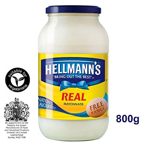 Hellmann\'s Real Mayonnaise 800g - Amerika\'s Nr. 1