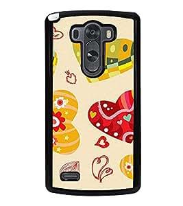 PrintVisa Designer Back Case Cover for LG G3 :: LG G3 Dual LTE :: LG G3 D855 D850 D851 D852 (Accessories Ethnic art silk pattern)