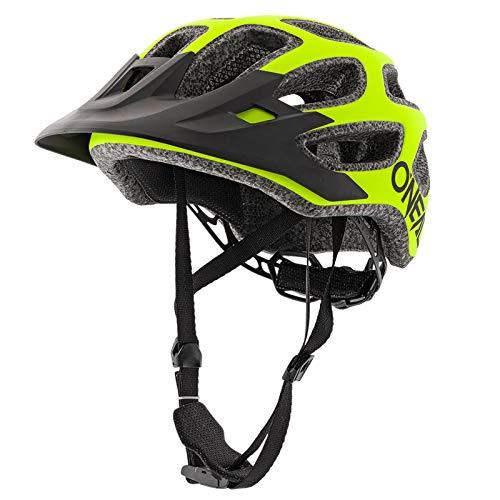 O'Neal Thunderball 2.0 Solid Mountain Bike Helm MTB Fahrrad Trekking BMX Rad Sport, 0007-S0, Farbe Neon Gelb, Größe L/XL/XXL