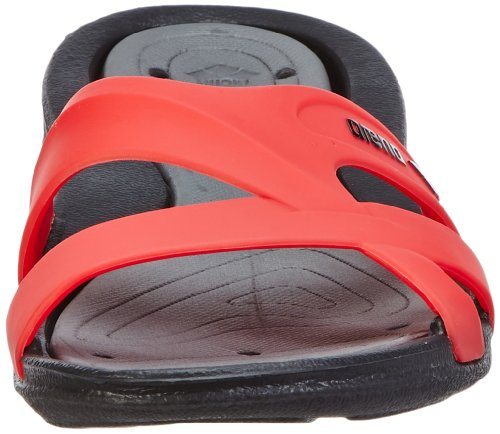 Arena Athena / 80680 Chaussures de bain Femme black,grey,fluo_red