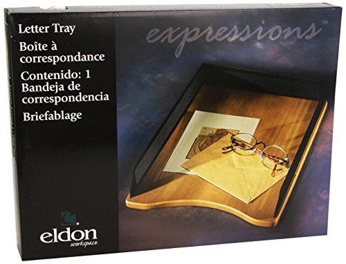 eldon-rolodex-corbeille-a-courrier-en-bois-et-metal-perfore-noir
