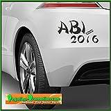Abi Aufkleber 2016 Motiv20 Auto Autoaufkleber ca. 20x10cm Scheibe Lack Abi2016 Abitur Heckscheibenaufkleber Fun