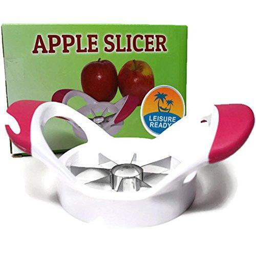 Apple cortador descorazonador cortador–mejor para Core y Slice manzanas, peras, patatas–Will mango hasta 3–1/2.