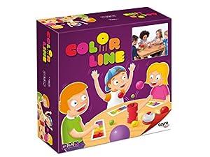 Cayro - Color Line - Juego de acción y rapidez - juego de mesa - Desarrollo de habilidades manuales y visión espacial - Juego de mesa (332)