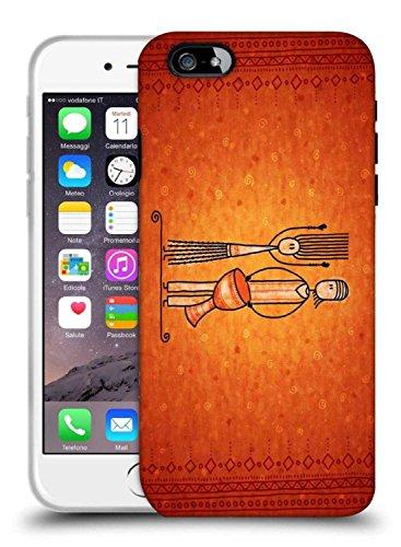 Snoogg Banjo Man Designer schützende Telefon-Fall-Abdeckung für Apple iPhone 6S