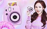WU Polaroid Kamera Upgrade Mini9 Paket mit Fotopapier Einmal Imaging,Lila,Einheitsgröße