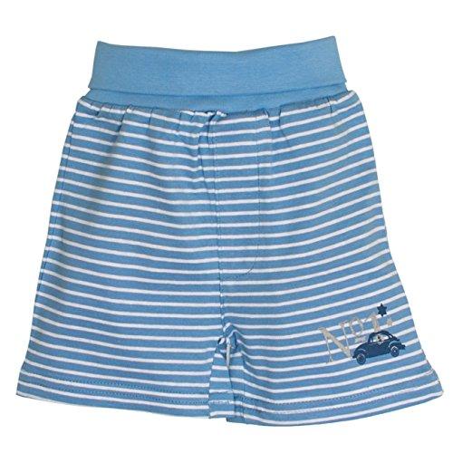 SALT AND PEPPER Baby-Jungen Shorts NB Racer Stripe, Blau (Sky 414), 68