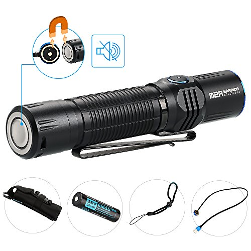 Olight® M2R Warrior LED Linterna taktisch - con