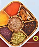 TDS Woven Masala Rangoli Box Dabba (Multi Colour) (Square)
