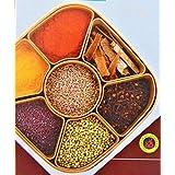 TDS Woven Masala Rangoli Box Dabba (Multi Colour) (Square)