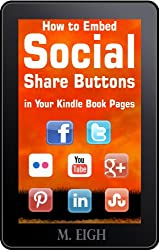 How to Embed Social Share Buttons in Your Kindle Book Pages (English Edition)