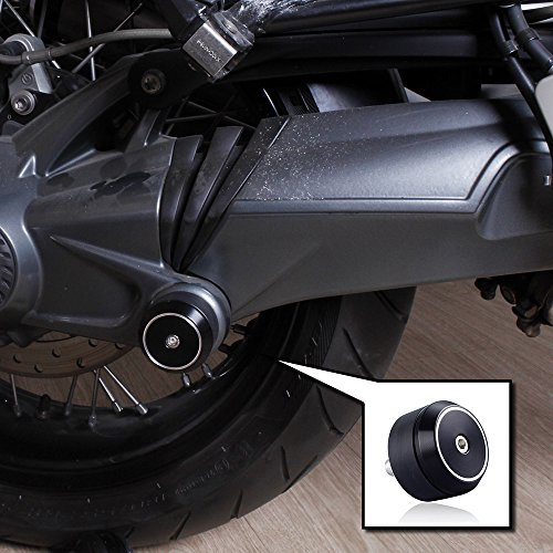 XX ecommerce Motorrad Hinterachse Schwinge (Technik) Antriebswelle Crash swinggram Slider Hinterachse Gabel Rad Schutzfolie Cover für BMW 2014–2016R NINE T R9T 2015