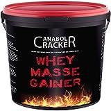 Whey Masse Gainer, Eiweisspulver Proteinshake, 3000g Eimer, Erdbeere, Toffi oder Vanille Geschmack, Sonderangebot