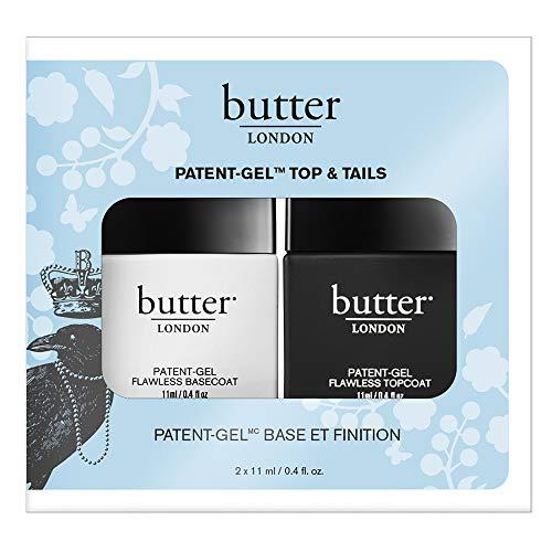 butter LONDON Patent-Gel Top & Tails, Unter- und Überlack, 2 x 11 ml -