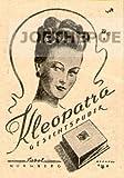 1948 - Inserat / Anzeige: KLEOPATRA GESICHTSPUDER SABOL - Grösse : ca. 45 x 70 Millimeter - alte Werbung / Originalwerbung/ Printwerbung / Anzeigenwerbung / Advertisement