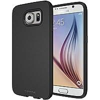 Diztronic Custodia Flessibile in TPU per Samsung Galaxy S6, Nero