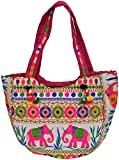Exotic India Shopper Bag from Kutch with...