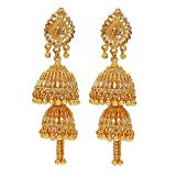 Memoir Gold Plated Double head Faux Kund...