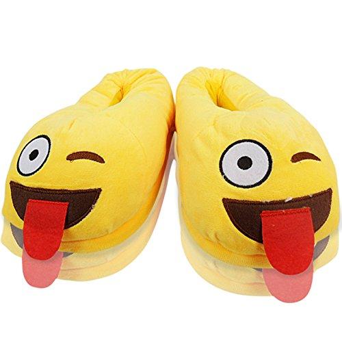 Emoji-Zapatillas-Unisex-Para-Nios
