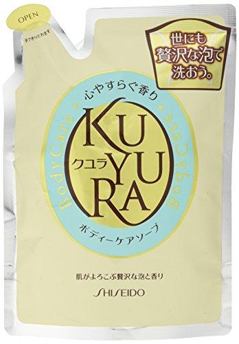 Shiseido KUYURA   Body Wash   Relax Fragrance Refill 400ml (japan import)