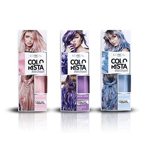 L'Oreal Colorista Unicorn Bundle For Brunette Hair, Dark Festival, Pack of 2