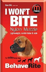 Mikki Muselière de dressage pour chien Taille 5 XL