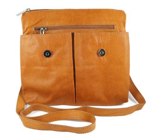 Imagen para Italian Bag Company - Bolso bandolera de Piel Mujer