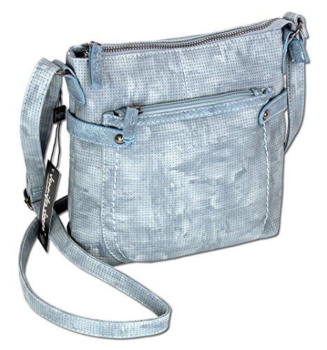 Damen Handtasche Schultertasche Umhängetasche XS 3121