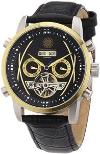 Reloj Constantin Durmont Boussole de caballero automático con correa de piel negra - sumergible a 30 metros de Constantin Durmont