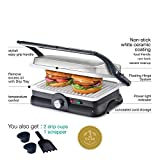 Cello Super Club 500 GM - Grill Maker 1500-Watt Grill Maker (White)