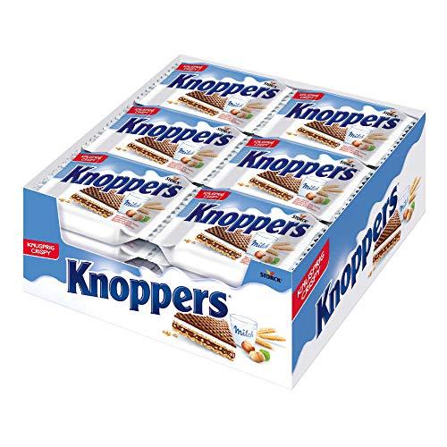 Knoppers, das Frühstückchen - und alles ist drin! Knoppers 24x1er - (24 x 25g)