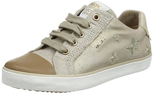Geox Mädchen J Kilwi  Low-top D Sneaker, Beige (Beige), 34 EU