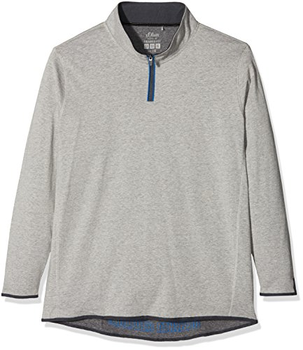s.Oliver Big Size Herren T-Shirt Grau (Marble 0605)