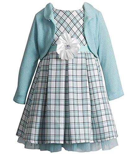 Entzückendes Petticoatkleid + Strickbolero von Youngland Gr. 98,104,110,116 Größe 104 (Youngland Kleid)